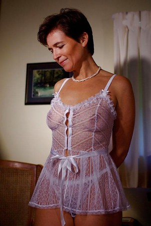 Mature wife see through lingerie Mature Women In See Through See Thru Clothes 2 36 Pics Xhamster