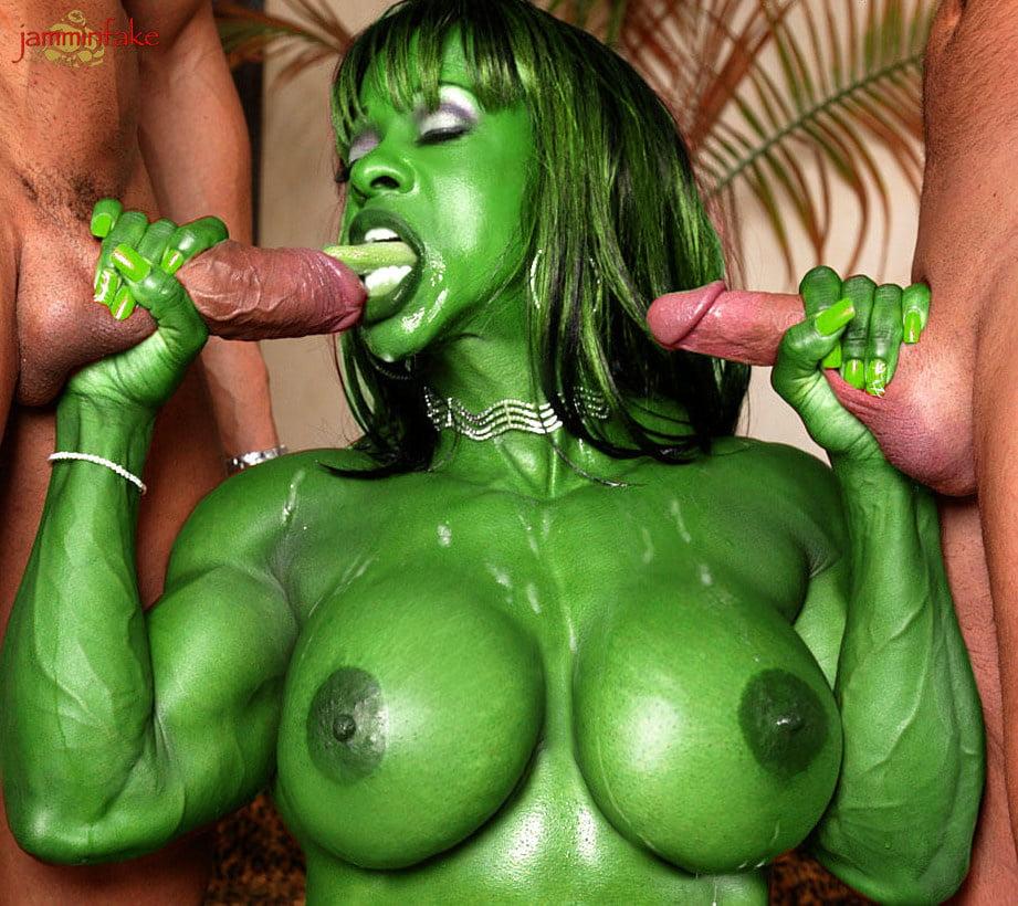 Hulk fucking hard black widow