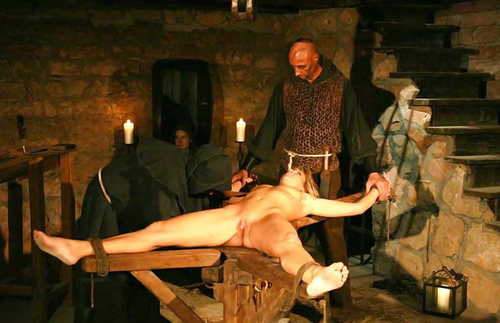 Naked girl torture inquisition