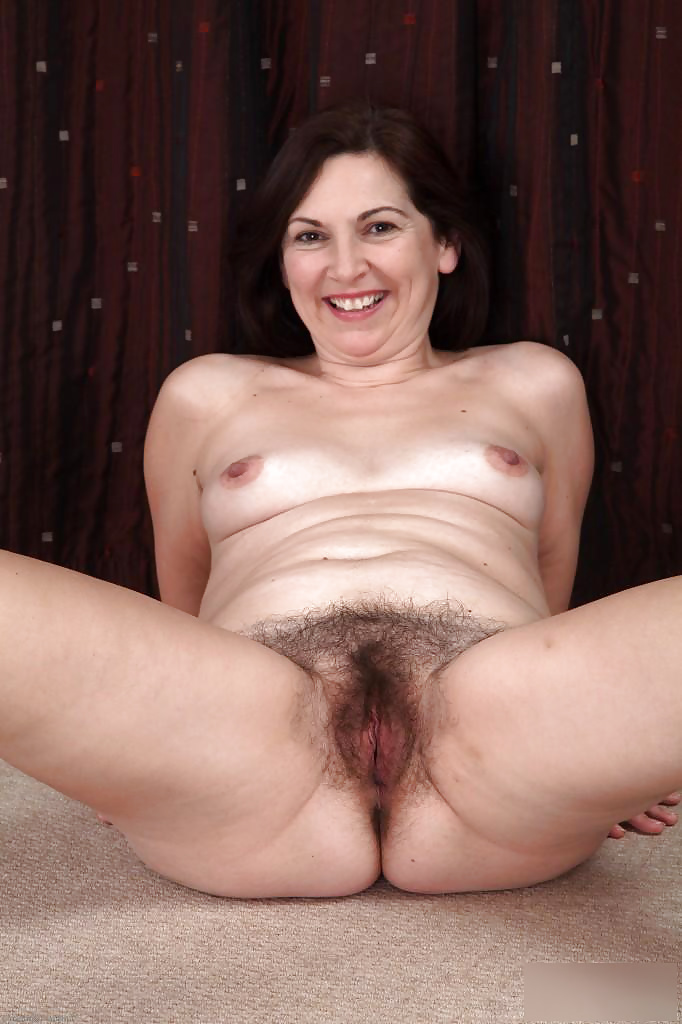 Horny hairy mature-8178