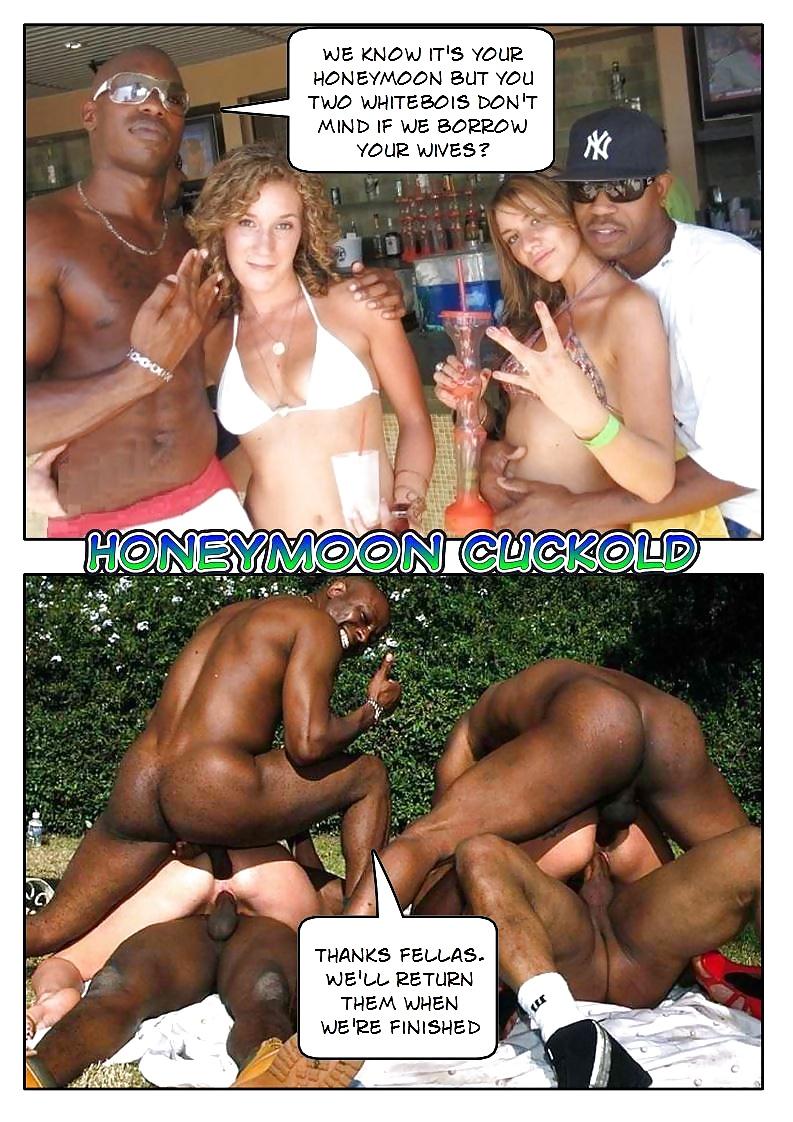 Interracial milf honeymoon