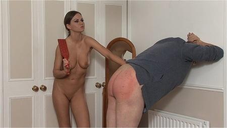 man Femdom spanking
