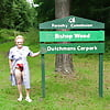 Granny Jean At Bishop Wood