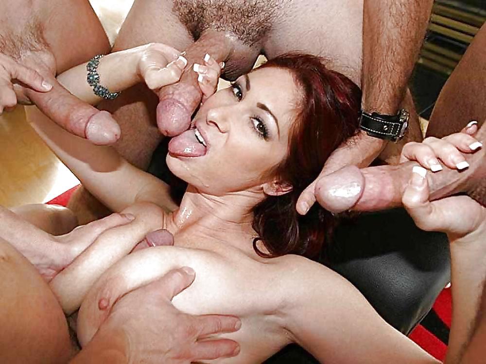 два члена и одна девка порно фото портале большой