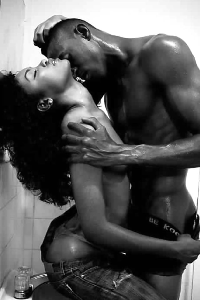 Hot ebony erotic love