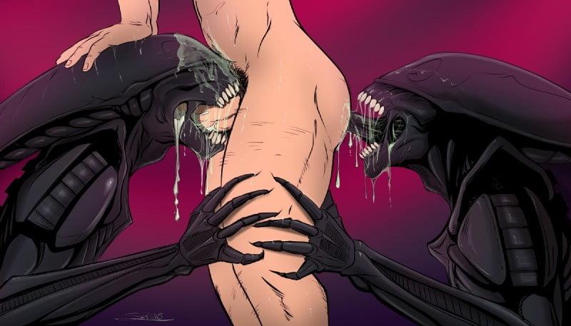 Cartoon porn alien-8715