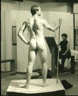 Nude american male models
