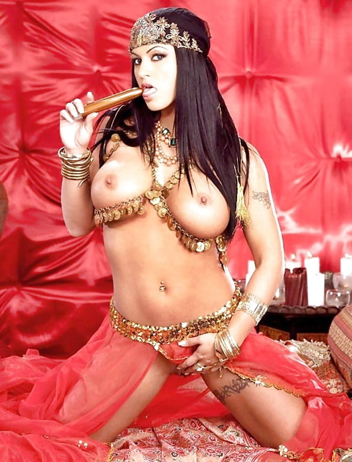 Nude belly dance show