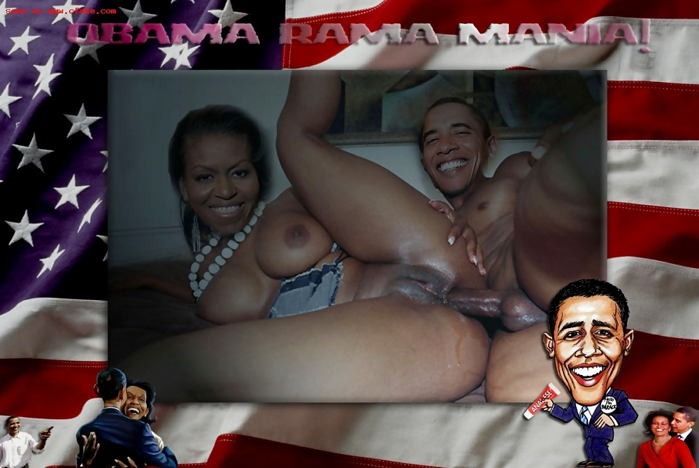 Obama girl boobs, if she let me in ima own that pussy