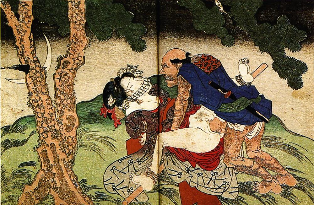 свободного японские средневековые порно рисунки все