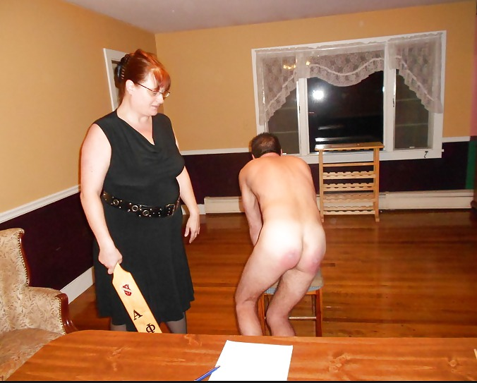 Submissive Husband Spanking