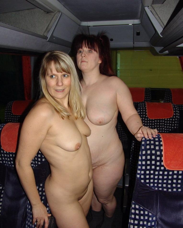 Nude older chubby women