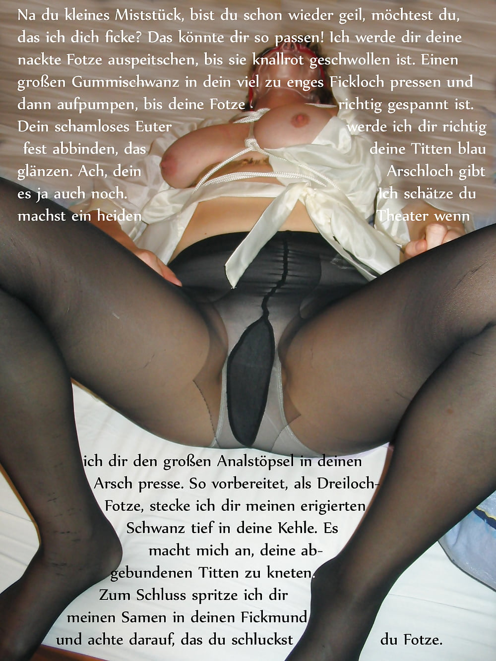 Pov kopfkino dirty talk von dominanter deutscher hausfrau - 2 part 9