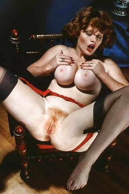 Classic Big Titted Red Head Porn Star Lisa Deleeuw As Maid Gets Done On A Table