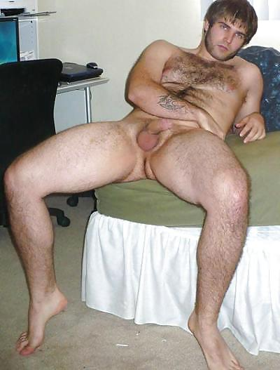 Blond naked college guy