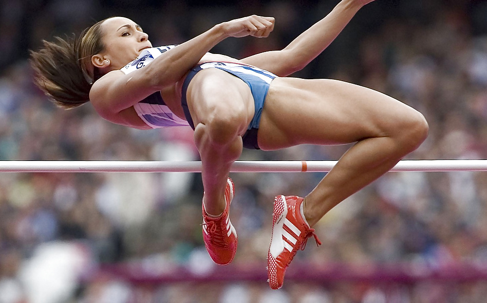 Naked track and field women