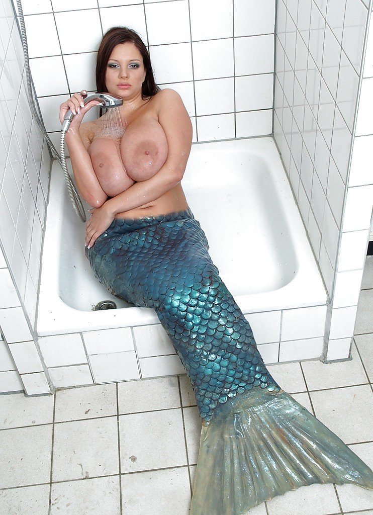 Merman sex busty naked milf