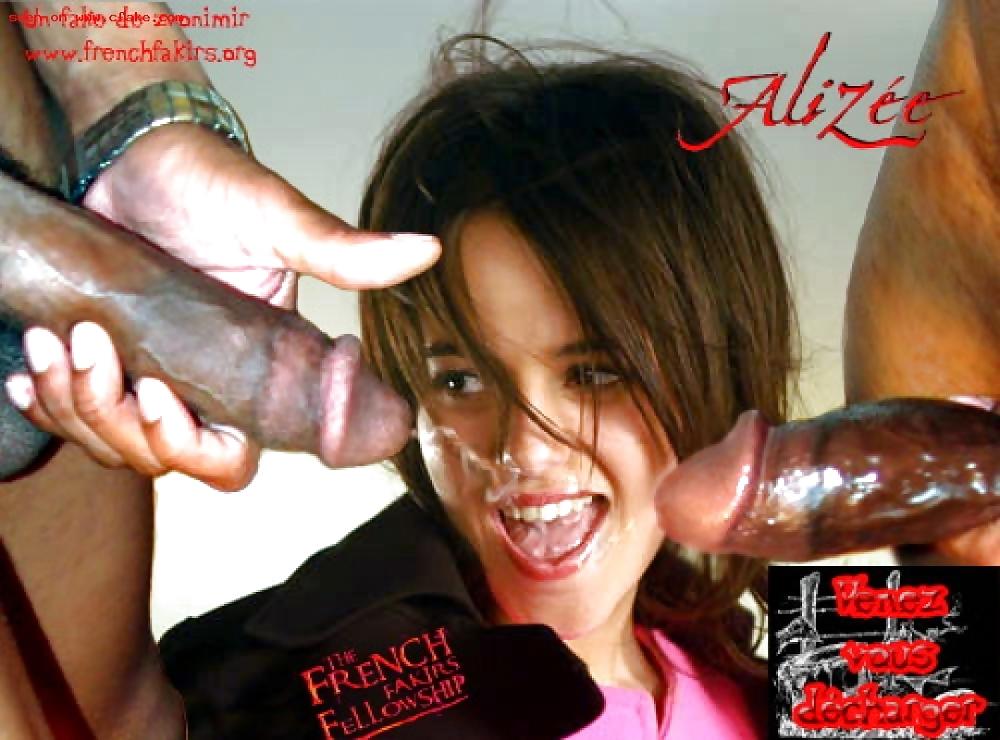 Alizee style strip show