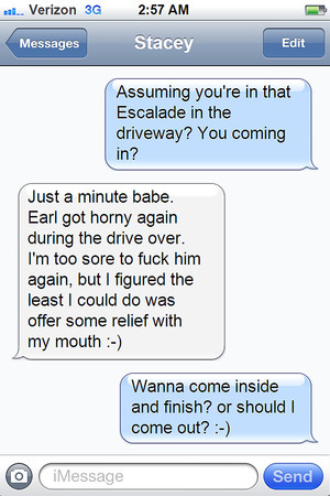 Hot wife text