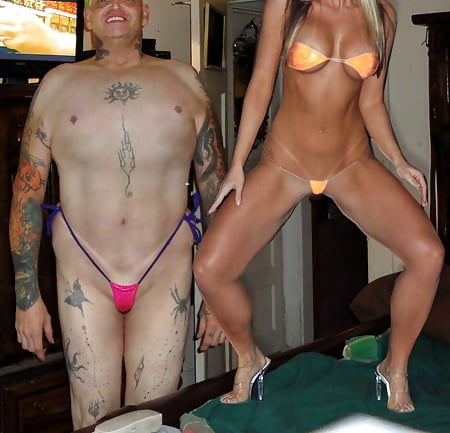 mesh bikini Male pouch