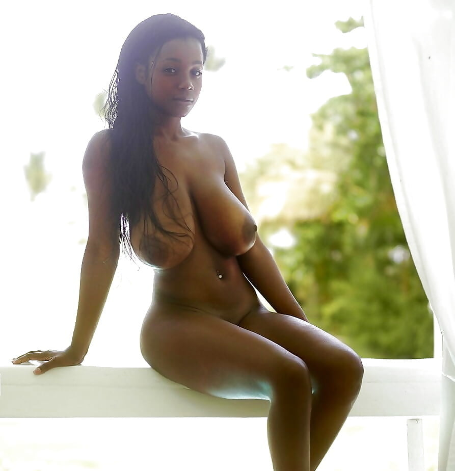 Sexy black girls boobs #10