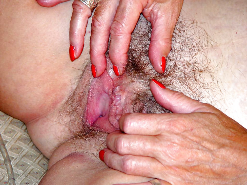 Naked Granny Big Clit Pussy