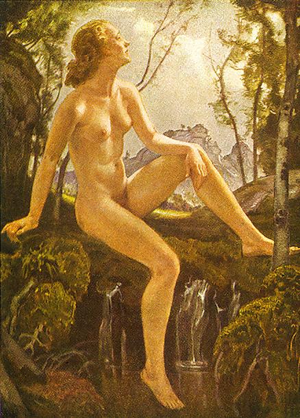 Vintage nudie nude lady playing cards