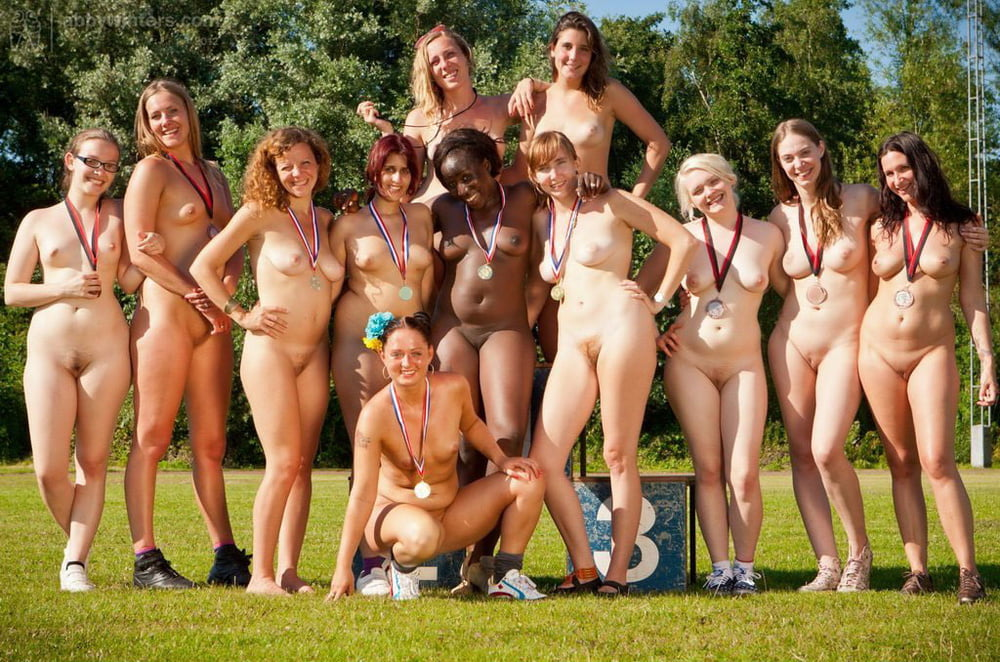 Nude female sports teams