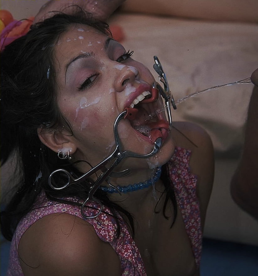 Slave forced cum swallowing