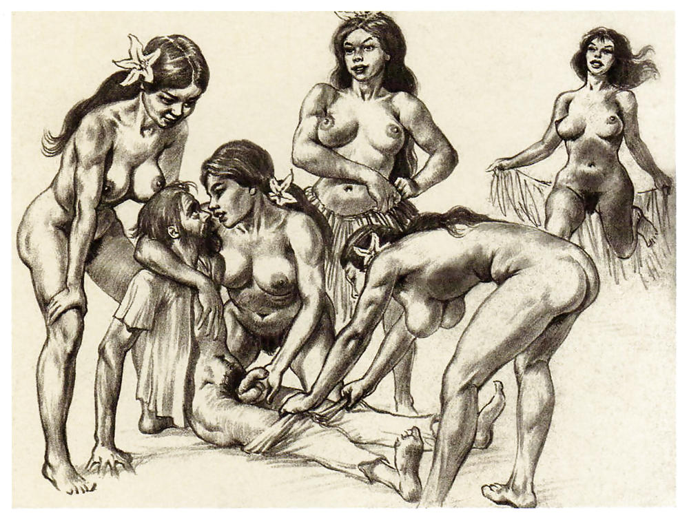 Modern native american bdsm porn art, sexy naked women doin all the fucking during sex