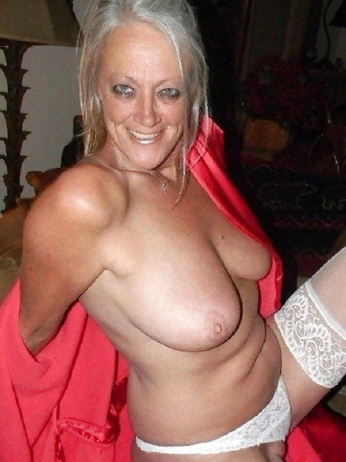 Silver haired amateur pictures — 13