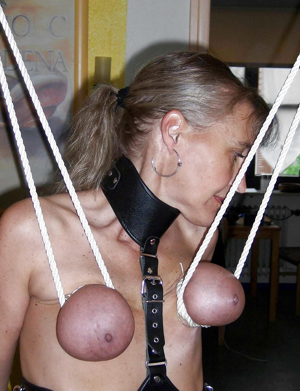 Bondage womens udders — photo 2