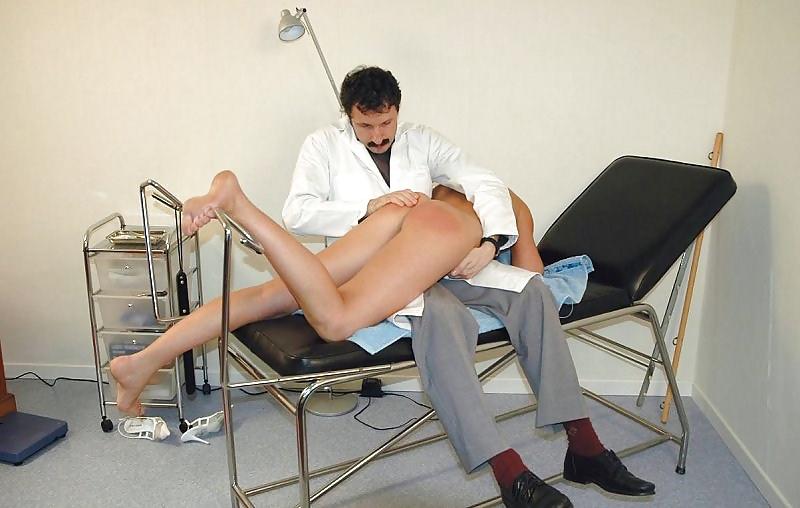 Doctor spanking girls — photo 10