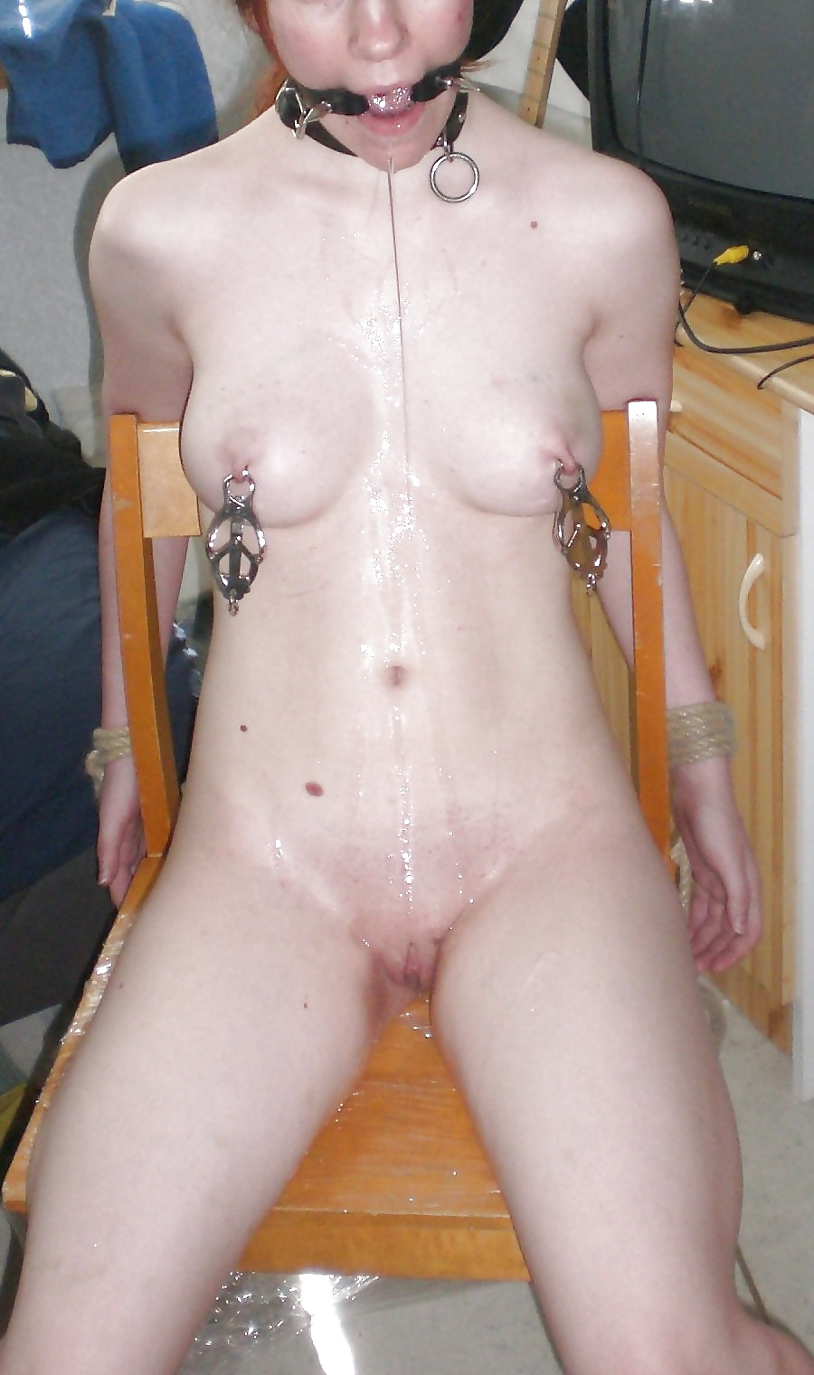 Amatuer gag nude 7