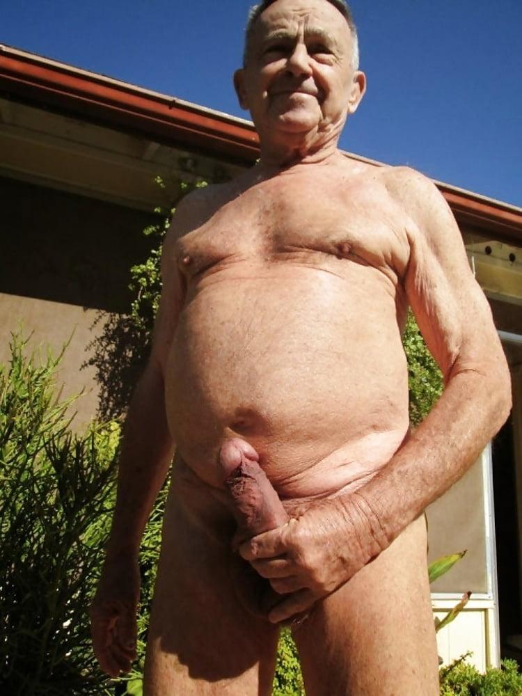 Nude grandpa erection