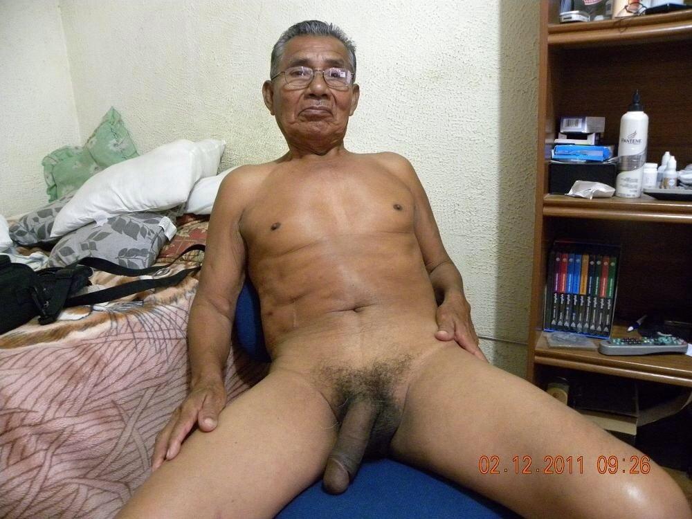 Cum japanese oldman nude from