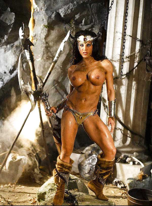 Naked barbarian women drawings — photo 4