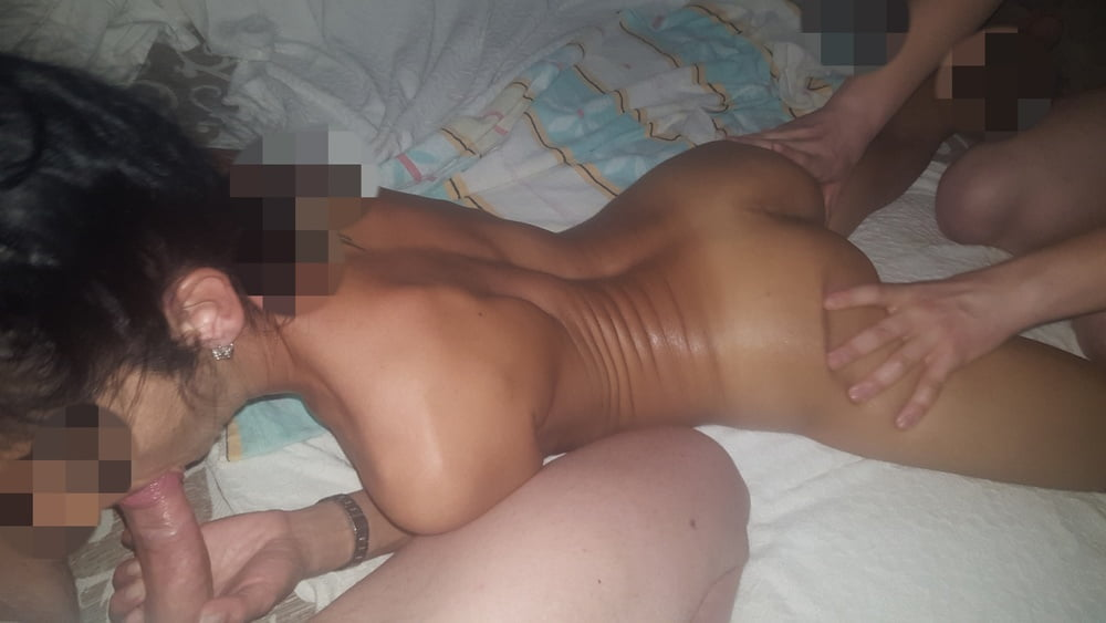 Hjemmelaget kone trio porno