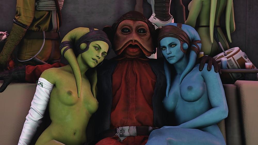 Compilation Of Star Wars Porn With Twi'lek Sluts