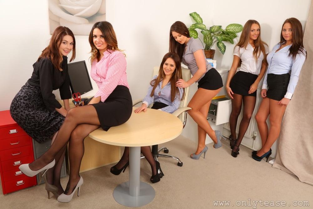 Lesbian group office hot sex videos, porn star in full length movie