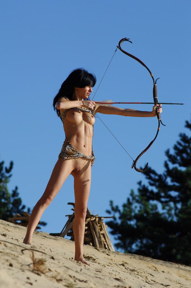 Penis arrow body target female woman