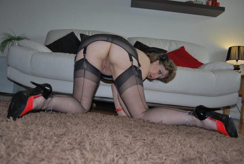 Mature Wife Stockings Seduced