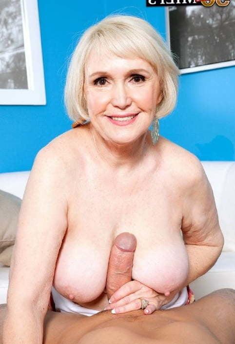Beautiful Senior Lady Tits