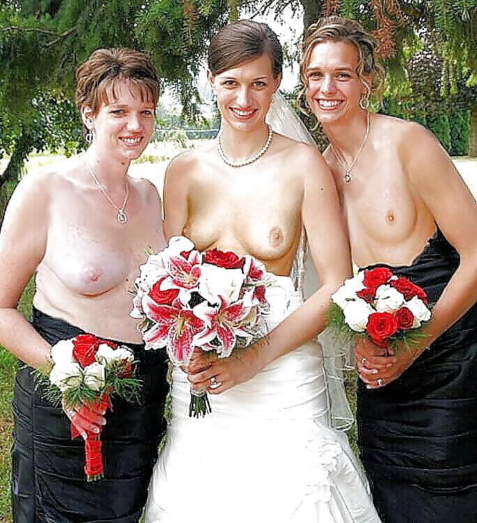 Обнажение на свадьбе свадеб