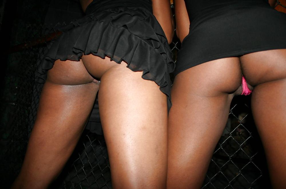 Upskirt panties and titties