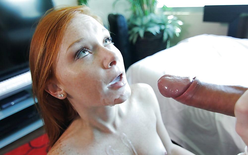 фото рыжих невест полный рот спермы оставил нам