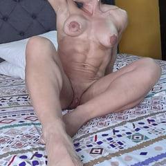Dirty In My Bed (Female Bodybuilder)