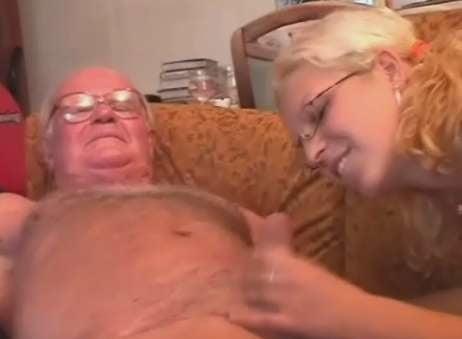 Gay hairy grandpa sex