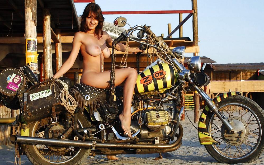 Bike with girl-1218