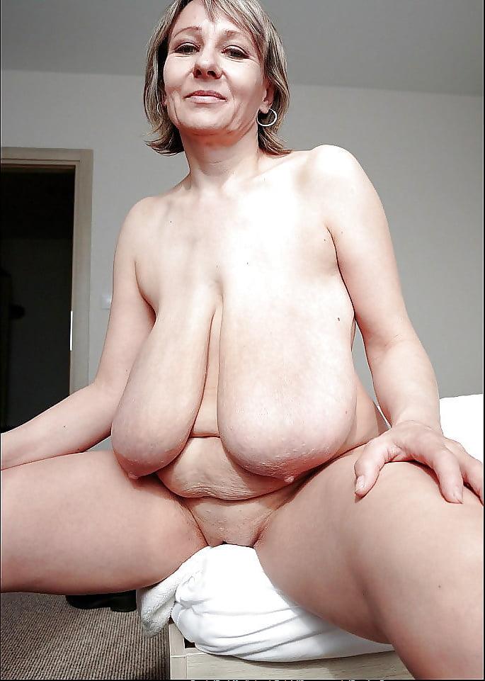 old floppy tits boobs Big